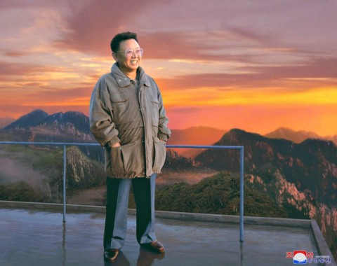 Photo Exhibition: Great Leader KIM JONG IL among people  - Image