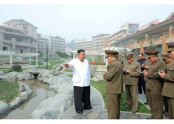 Dear totop IlKim Jong-uncomrades hewas a local map you like the Mount Kumgang tourist district - Image