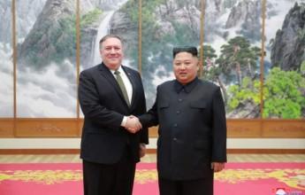 Supreme Leader Kim Jong Un Meets U.S. Secretary of State - Image