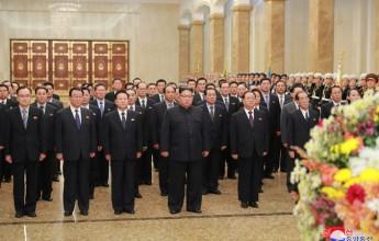 Supreme Leader Kim Jong Un Visits Kumsusan Palace of Sun - Image