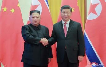 Supreme Leader Kim Jong Un Visits China - Image