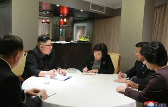 Supreme LeaderKim Jong UnReceives Report on Activities of Working Delegation to Second DPRK-U.S. Summit Talks - Image