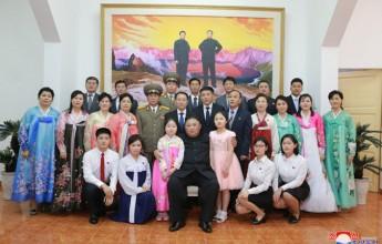 Supreme LeaderKim Jong UnVisits DPRK Embassy in Hanoi - Image