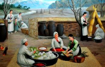 Kimchi-making in Korea - Image